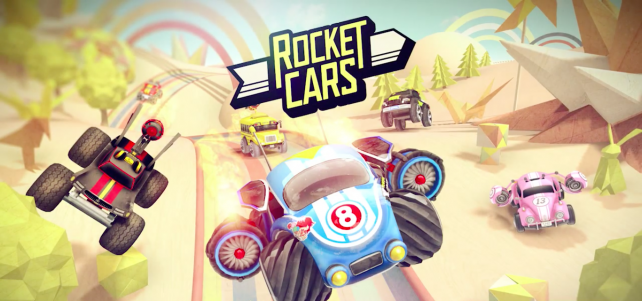 Rocket Cars blows the competition away with its one-touch racing gameplay (via @appadvice)