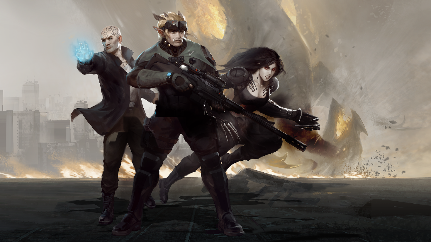 Get the definitive cyberpunk RPG experience in Shadowrun: Dragonfall – Director's Cut