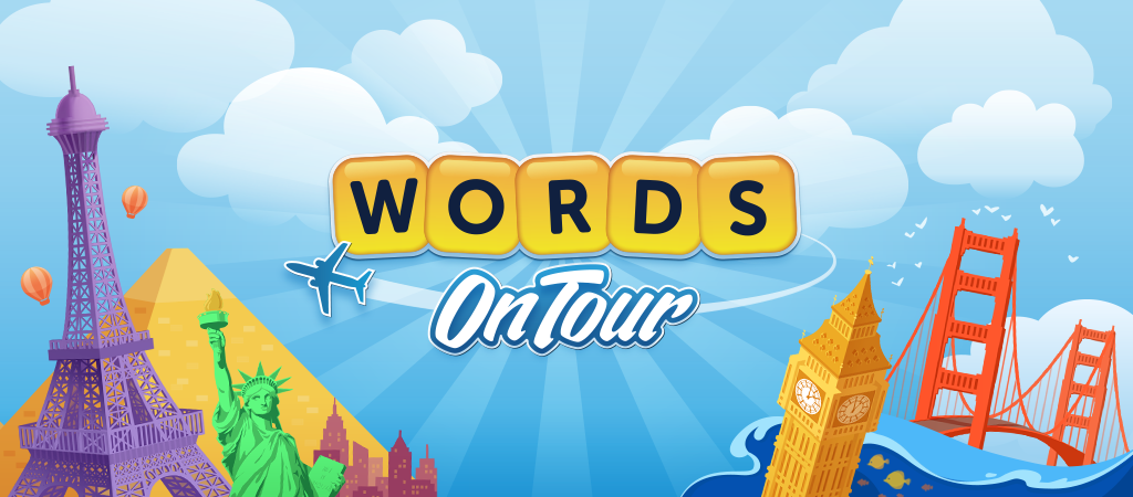 zynga invites you to go on a world tour with its new words with
