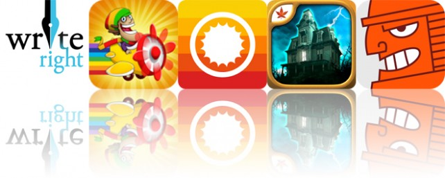 Todays apps gone free: WriteRight, Yyaah!, ClearWeather and more