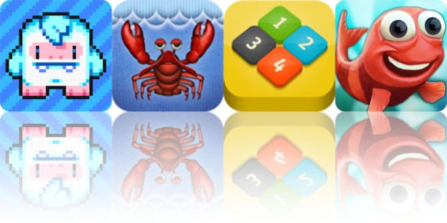 Todays apps gone free: Lost Yeti, Lobster Tale, Numble and more