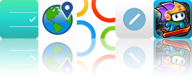 Todays apps gone free: Noti:Do, Places Around, Intervals and more