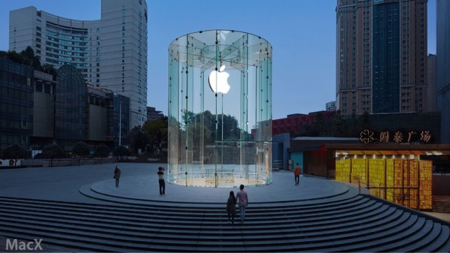 Another week, another Apple retail store is opening in China