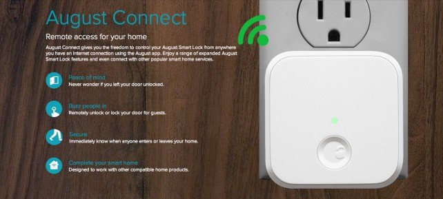 Unlocking your front door from anywhere is getting easier with the Kwikset Kevo and August Smart Lock