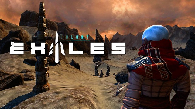 Explore a distant planet in the upcoming 3-D sci-fi RPG Exiles