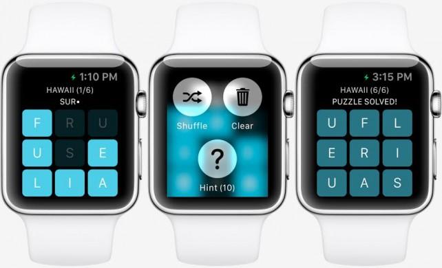 Apple Watch a hry.. Mohly by vypadat třeba takto