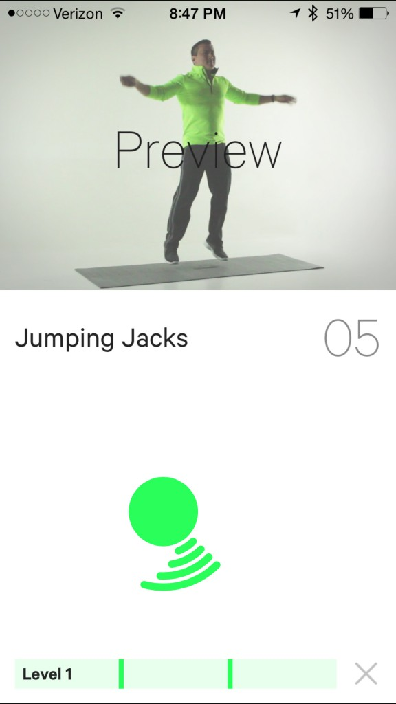Moovs new 7 Minute+ Workout Coach app is a dose of butt-kicking exercise fun