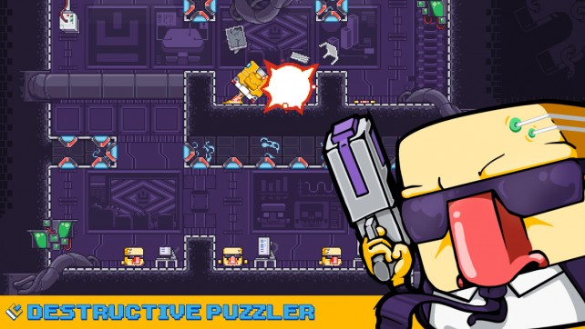 Roll, defend, and blast your way to the finish in our Honorable Mention pick this week!
