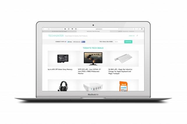 TechHunter makes finding tech deals easy