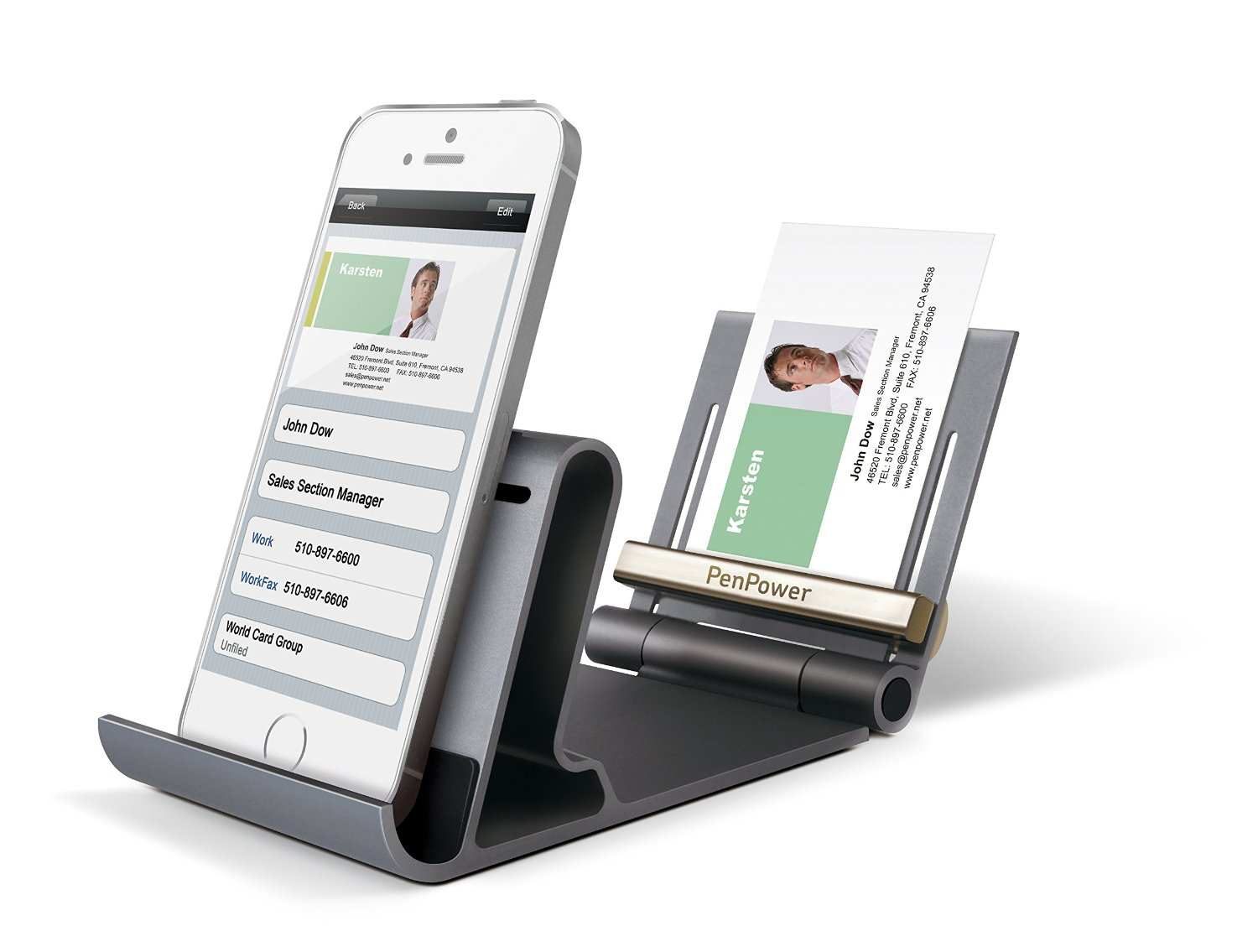 The worldcard mobile phone kit makes scanning business cards even easier reheart Gallery