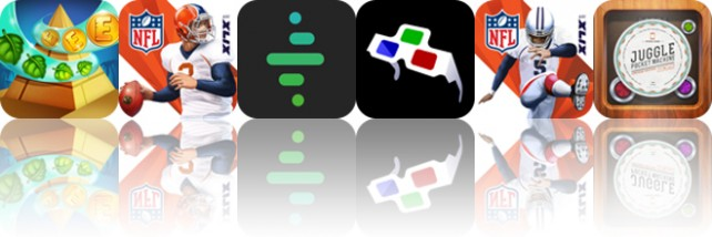 Todays apps gone free: Cradle of Egypt, NFL Quarterback 15, Alertic and more