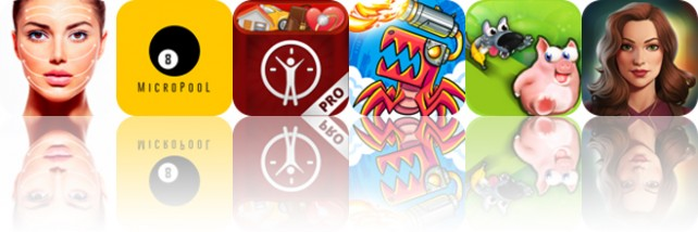 Todays apps gone free: Facial Massage, MicroPool, LifeTicker and more
