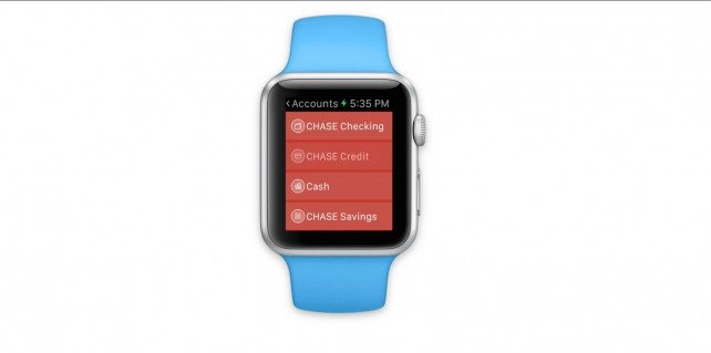 Heres a preview of the MoneyWiz 2 and MileWiz Apple Watch apps