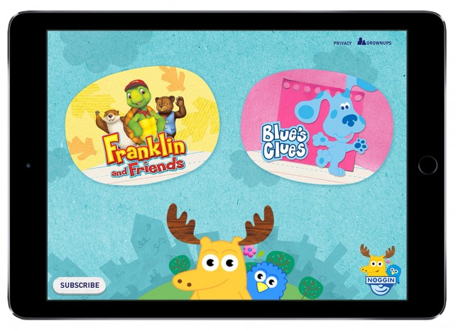 Nickelodeon unveils its new Noggin video subscription service for the iPhone and iPad