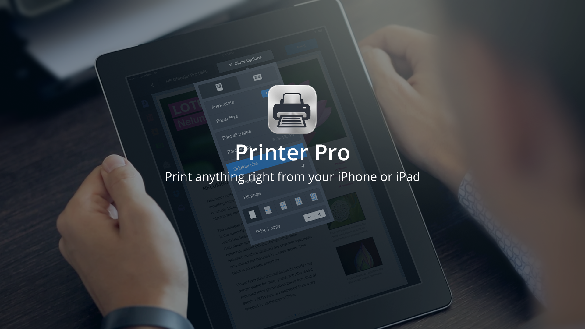 printer pro is selected as apple s latest free app of the week