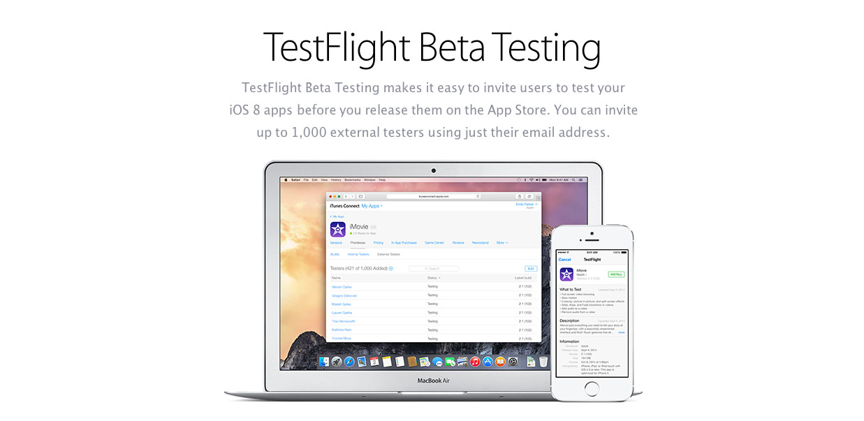 unveils a TestFlight Groups feature to make the beta testing process ...