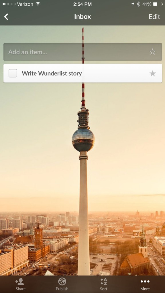 Big improvements are coming to the powerful to-do app Wunderlist in 2015