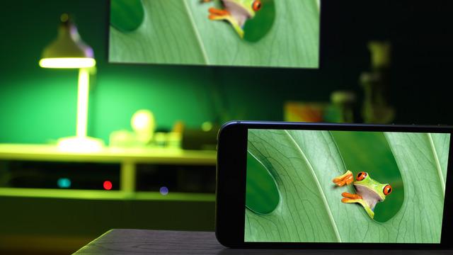 Hue Camera for iOS.