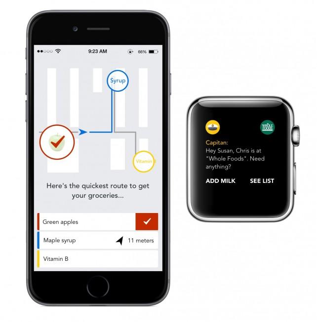 Capitan app offers 'smart' shopping