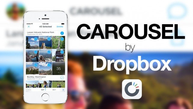 How to use Dropbox's Carousel for photo management