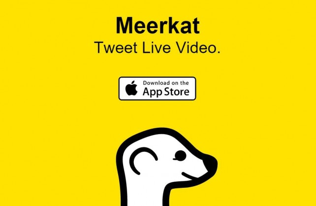 Broadcast live video to your Twitter stream with Meerkat for iOS