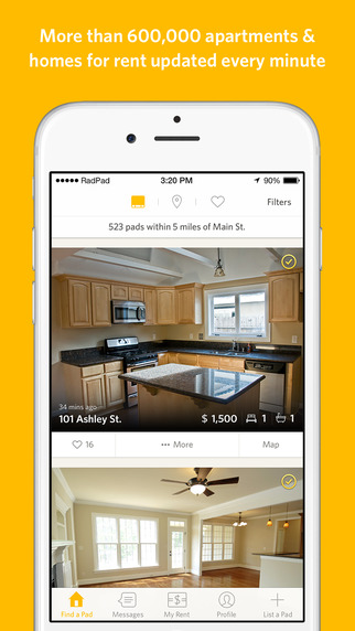 RadPad gets a smart update adding support for rent sharing