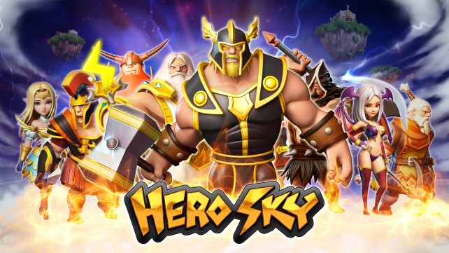 Build, defend, and conquer in Hero Sky: Epic Guild Wars, available now