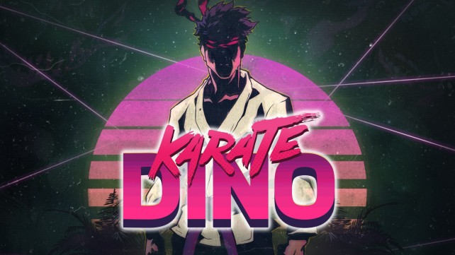 Can you survive in a world of dinosaurs? Find out in Karate Dino, a retro arcade game coming next week