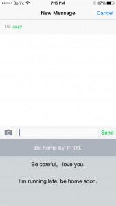OftenType Text List