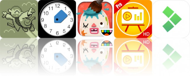 Todays apps gone free: 8bit Doves, TimeTag, Toca Mini and more