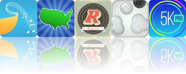 Todays apps gone free: Musical Paint, Geography Duel, Retromatic and more