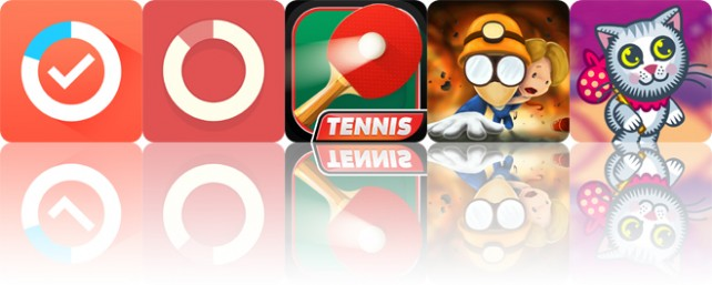 Todays apps gone free: Life Graphy, Routina, Table Tennis 3D and more