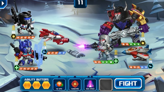 Transformers: Battle Tactics update brings the first in-game event