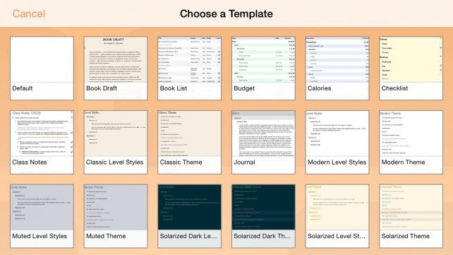 OmniOutliner 2 for the iPad goes universal for the iPhone and adds new features