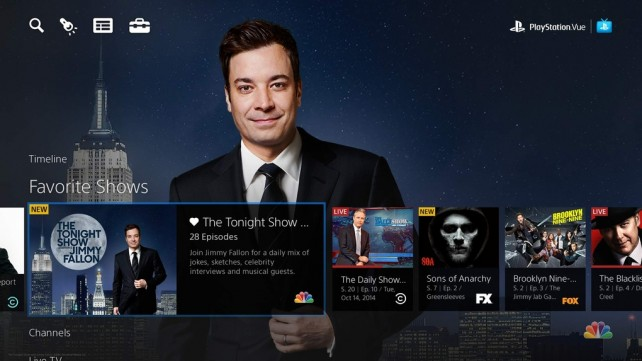 Sony Vue streaming TV service coming to iPad