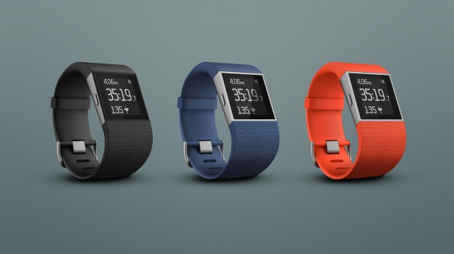 Ahead of the Apple Watch debut, Fitbit adds multiple device support and bike tracking for the Surge
