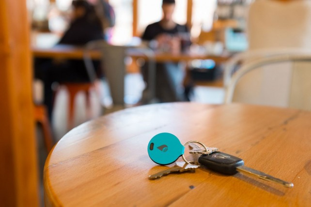 Keep track of your keys and other belongings with the new TrackR Bravo