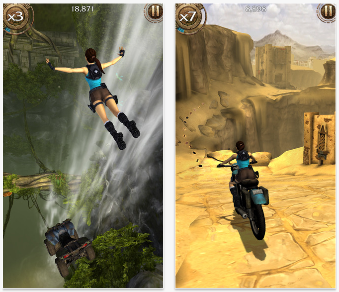 Lara Croft: Relic Run (Video)