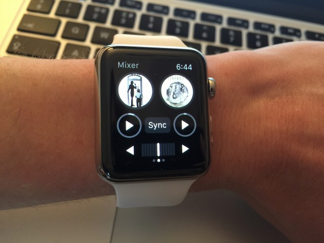 Start mastering tracks on the move with Algoriddim's Djay 2 for Apple Watch
