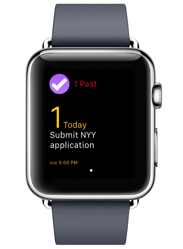 OmniFocus for the Apple Watch.