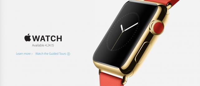 Scalpers on eBay take advantage of the Apple Watch hype