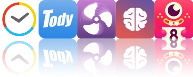 Todays apps gone free: Kiwake Alarm Clock, Tody, Sleepy Fan and more