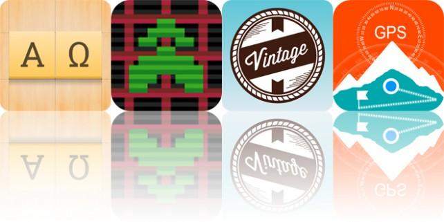 Todays apps gone free: Alpha Omega, Gridrunner, Vintage Design and more