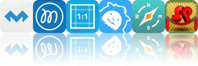 Todays apps gone free: MolaSync, Fluent Mind Map, Square Video and more