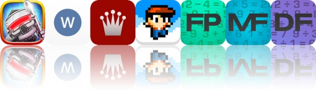 Todays apps gone free: Trouble With Robots, Wordbox, Chess Academy and more