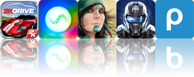Todays apps gone free: 2K Drive, Synesthetic, Windy and more