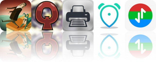 Todays apps gone free: Back to Bed, Quarriors, Printer Pro and more