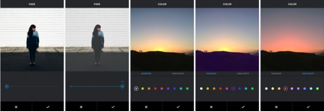 Instagram is adding two new image editing tools – Color and Fade