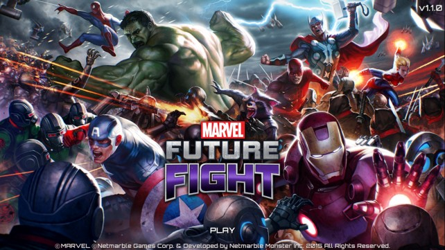 Marvel Future Fight rumbles into the App Store featuring awesome RPG action