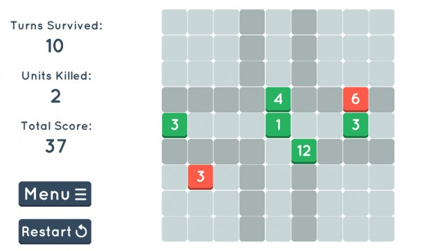 Slide, add, and subtract to defend your base in Cubic!, a new strategic puzzle game